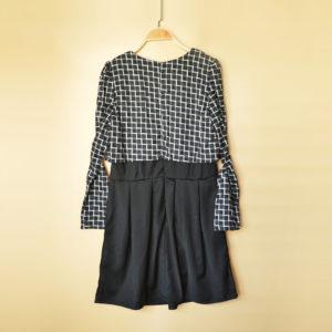 日本AmericanAppeal XL 大碼 加大碼 假兩件 長袖 秋冬款 格仔 連身裙