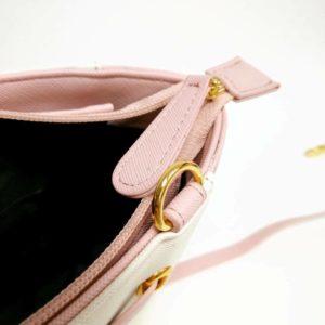 日本 Colors by Jennifer sky 3色 蝴蝶結 斜孭袋 側孭袋 淺啡色 粉紅色 黑色