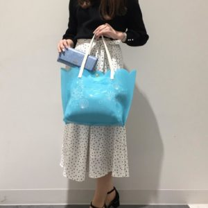 沙灘必備!日本 Colours by Jannifer sky 小魚仙 The little Mermaid Disney tote bag 側孭袋