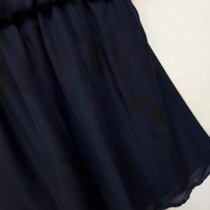 日本單 寶藍色 雪紡 春夏 短袖 連身裙 dress