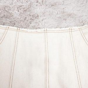 日本 春夏 牛仔 高腰 及膝 A字裙 短裙 有袋 橡筋 鬆緊腰 skirt