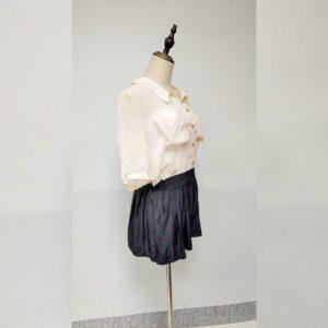 日本Sureve 假兩件 恤衫 Romper 裙褲 連身裙褲