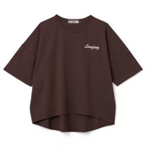日本GRL 多色 純棉刺繡 短袖 春夏 上衣 tee shirt