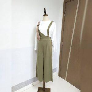 推😍2件套 日本 外襯吊帶裙 + 薄身長袖 Tee