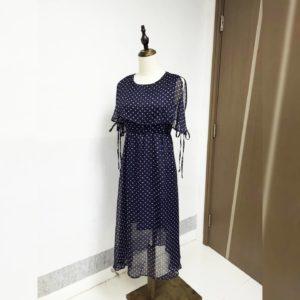 韓國單 春夏 雪紡 連身長裙