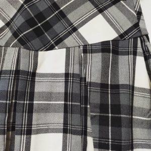美國單 38碼 LACE 格仔裙