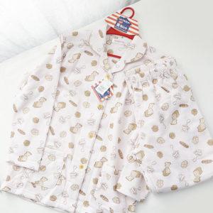 日本單 保暖 印花 睡衣套裝