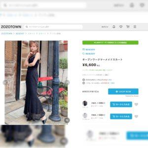 日本RESEXXY lace 橡筋腰 魚尾裙 半截裙