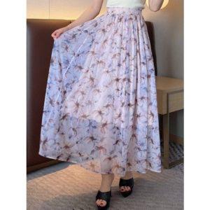 日本RESEXXY  彈性 柔軟 網紗 半截裙
