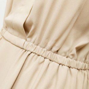 日本 ROPÉ PICNIC 插袋 雪紡 橡筋腰 連身裙